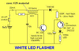 Solar Street Light Wiring Diagram - 30 led projects