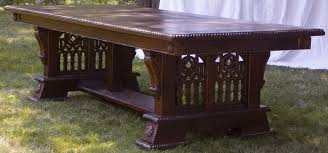 Gothic Dining Room Furniture Artisans Of The Valley Hand Crafted Custom Tables Gothic Page 3
