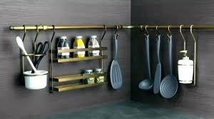 tringle de cuisine barre pour ustensile de cuisine support ustensiles cuisine inox