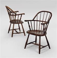 Windsor Armchairs Design A Pair Of U201cwindsor U201d Armchairs Thonet Mundus And Jacob