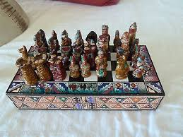 Ceramic Chess Set Chess Collection On Ebay