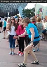 Disney World Meme - andpop new meme alert in the way lady