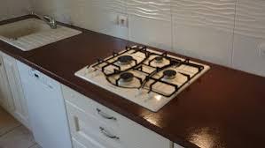 plan de travail en carrelage pour cuisine kit béton ciré pour plan de travail cuisine diy