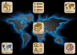 World Map Quiz Game by World Countries Capitals Flags Map Puzzles Quiz Android Apps On