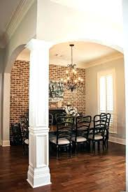 pillar designs for home interiors modern square column design smartledtv info