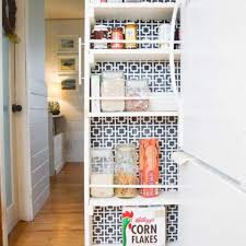 kitchen storage cabinets narrow diy pull out pantry the easy tutorial diy