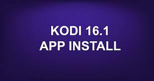 kodi apk kodi 16 1 app install