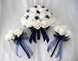 blue wedding flowers wedding flowers navy wedding flowers
