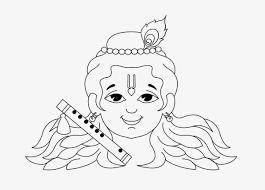 krishna image drawing wallpaper lord krishna drawing kids