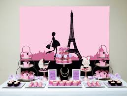 baby shower puppy theme printable pink paris themed baby shower backdrop digital