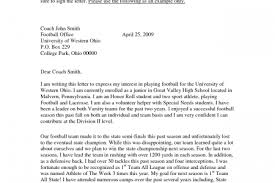 sample letter to college coaches for recruiting world of examples