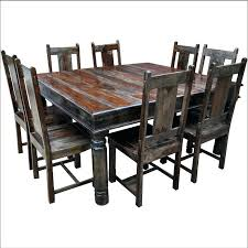 dining table solid wood dining table rustic uk round and chairs