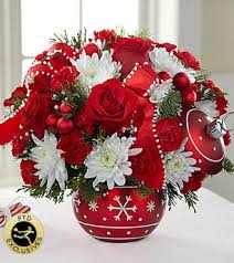 Christmas Flowers Exclusive Christmas Bouquets Limited Edition Christmas Flowers Ftd