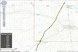 Wichita Kansas Zip Code Map by May 16th 2017 Pawnee U0026 Barton County Ef 3 Tornado