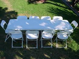 rent tables and chairs for party abc america jumps tables chairs