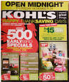 Kohls Black Friday Ad 2011