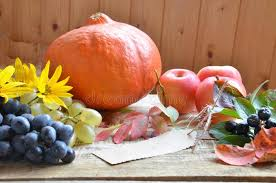 autumn nature concept thanksgiving dinner table celebration of