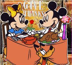 mickey mouse thanksgiving day animated gifs gifmania