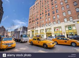 new york new york usa at the manhattan google offices stock