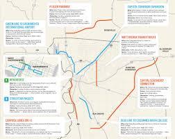 Map Sacramento Map Of The Sacramento Region U0027s Biggest Transportation Projects