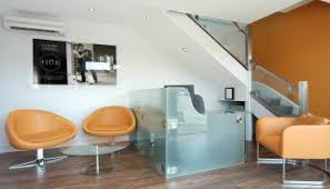 Glass Reception Desk Bespoke Contemporary Glass Reception Desk