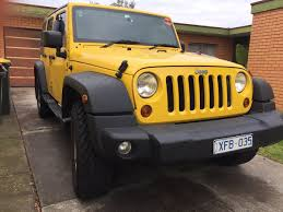 yellow jeep jeep wrangler rental melbourne car next door