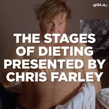 Dieting Meme - cinemablend the stages of dieting presented by chris