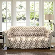 Sofa Slipcovers Target by Taupe Edward Trellis Furniture Protector Sofa Slipcover Target