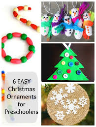 6 easy ornaments for preschoolers to make how wee learn