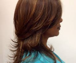 medium hair styles with layers back view how to cut girls hair long layered haircut for excellent layers