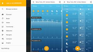the best weather app for android best weather apps for android 2018 10 apps with consistent updates