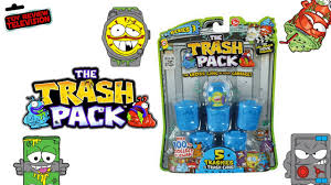 trash pack series 3 5 pack review unboxing