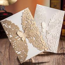 Butterfly Invitations Wedding Invitations Laser Cut Butterfly Flower Invitations Cards