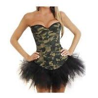 Burlesque Halloween Costumes Pirate Corset Burlesque Halloween Costume Ebay