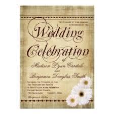 Rustic Vintage Wedding Invitations Vintage Paper Wedding Invitations Rustic Country Wedding Invitations
