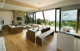 kitchen ls ideas tiny kitchen living room combo brown pastel laminate flooring