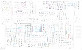 416c 426c and backhoe 436c loader electrical system schematic