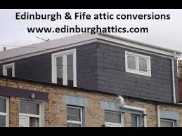 Loft Dormer Windows Edinburgh U0026 Fife Attic Loft Conversions Huge Dormer Window