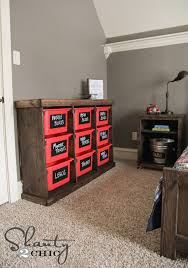 Bookshelf And Toy Box Combo Diy Storage Idea Shanty 2 Chic