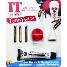 amazon com rubie u0027s costume men u0027s it pennywise make up kit