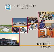 prospectus 2015 hitec university