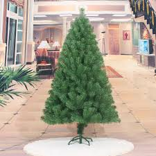 1 5m green densed artificial christmas decoration welcome xmas