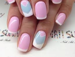 45 pretty french nails designs 2016