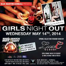 blue martini bottle ons events girls night out kendall at blue martini kendall