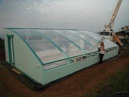 how big is 400 square meters organic farming greenhouse friendly aquaponics