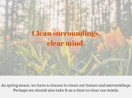 spring clean your mind coach lyds