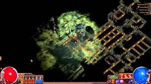 Lightning Strike Map Path Of Exile Crematorium Piety Boss 2h Lightning