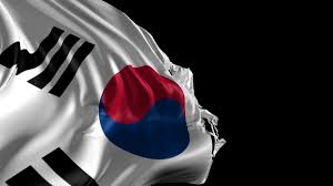 South Korea Flag Flag Of South Korea Beautiful 3d Animation Of South Korea Flag