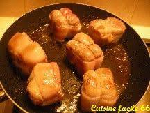 paupiettes de veau au four aux oignons et chignon de