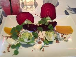 the mustang park city roasted beet blue cheese salad highlight of the meal by far yelp